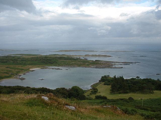 Ardilistry Bay from Cnoc Rhaonastil