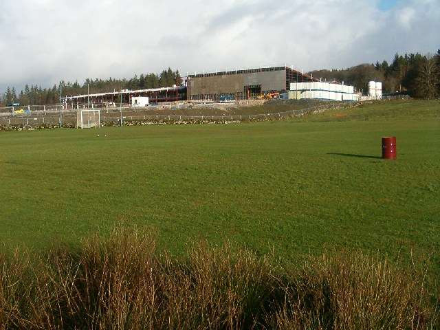 New school from the shinty pitch