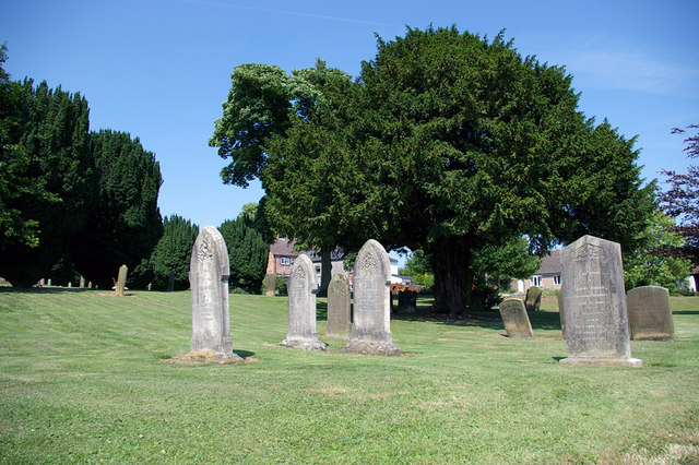 Churchyard of St. Mary & St. Peter, Ludford
