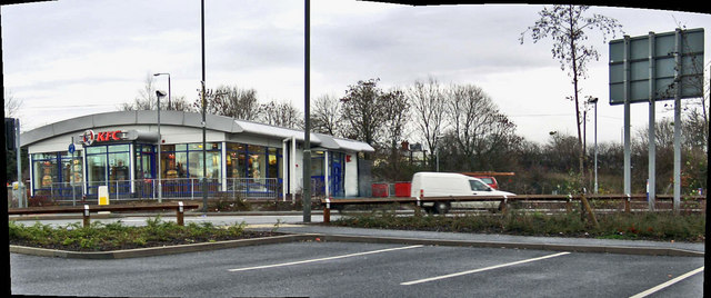 Kentucky Fried Chicken, Langley Mill, Derbyshire