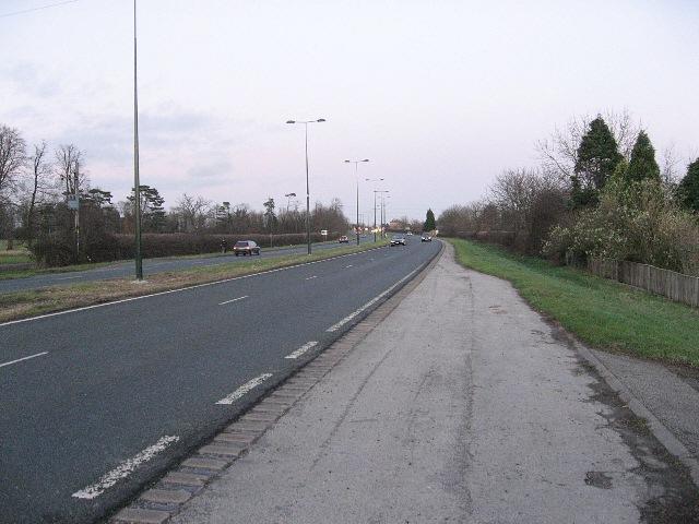 Dusk On The A46