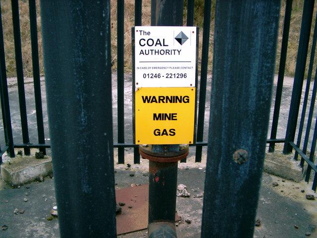 Warning Mine Gas