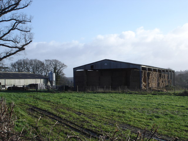 Dairy Farm just outside Wimborne St Giles