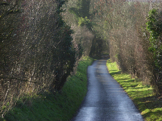 The lane above Ashley Warren