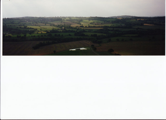 View from Wenlock Edge (to right)
