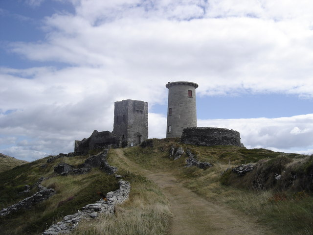 Look Out Towers on Cape Clear