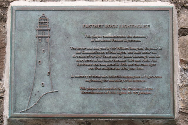 Plaque on Jetty building on Rock Island