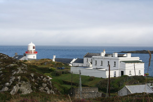 Rock Island and Crookhaven Lighthouse from landside