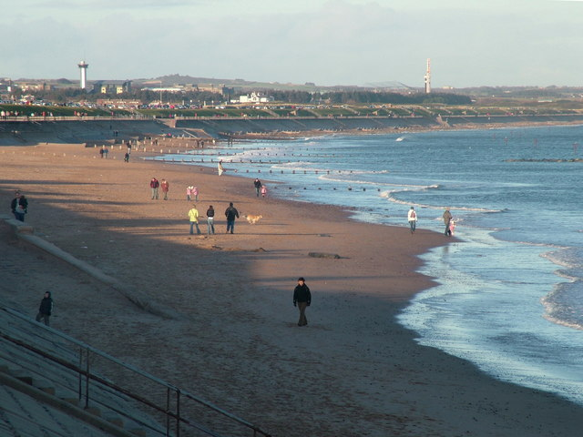 Aberdeen Beach in January