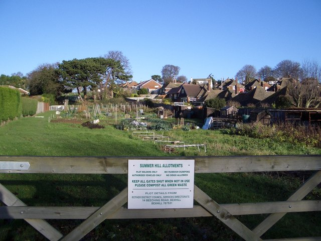 Summer Hill Allotments, Bexhill