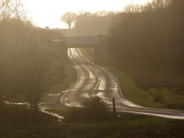 B3055 south of Lymington Junction, New Forest