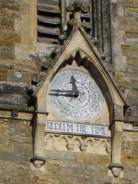 The Church Clock at Netherfield