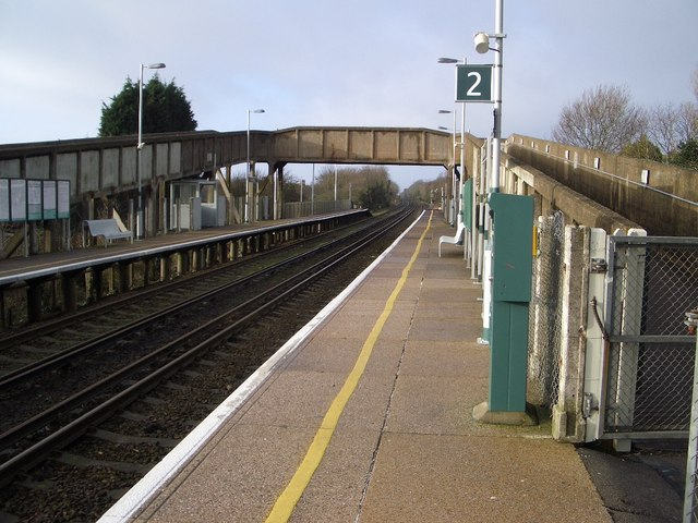 Collington Railway Station, Bexhill