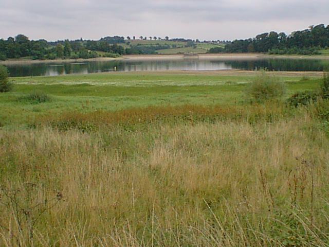 Ogston Reservoir Low Water