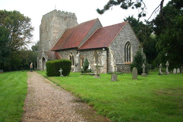 St. Mary's Church,  Holton St. Mary