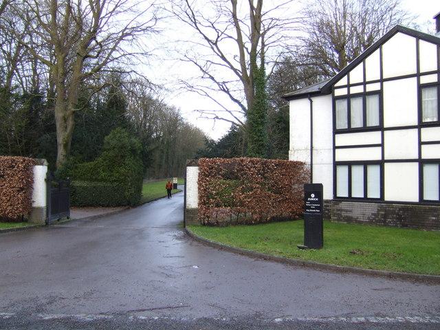 Entrance to King Edwards Place