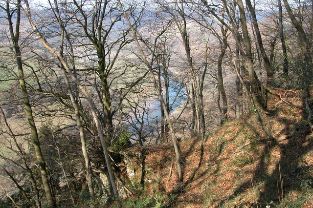 River Wye valley from near the Devil's Pulpit