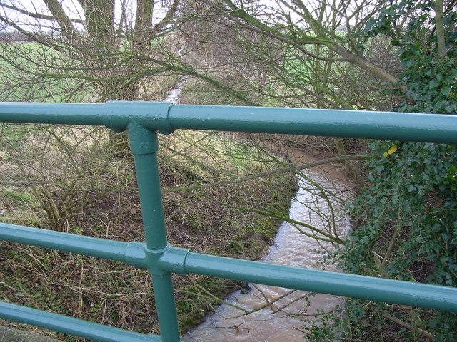 Stream from A612 roadside