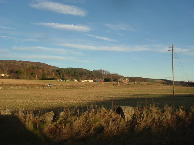 Campfield from the Glassel road.