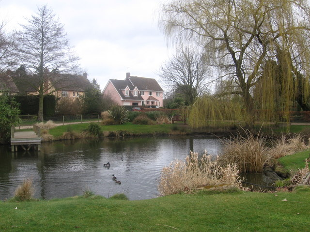 Tuddenham village pond