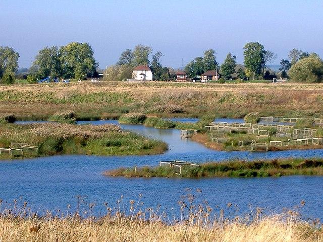 RSPB reserve near Cromwell Lock