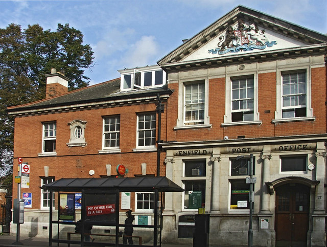 Enfield Post Office, Church Street, Enfield