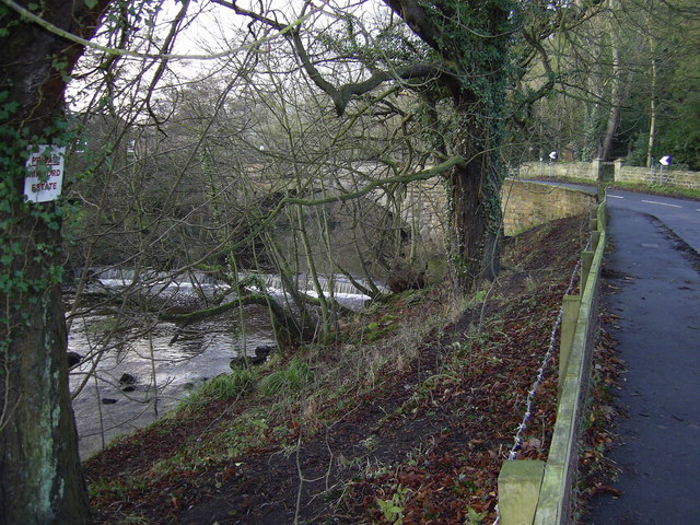 Bridge and Weir at Mitford