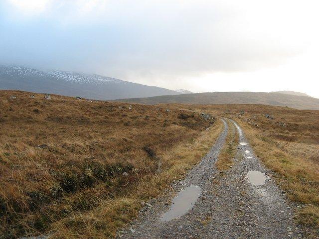 Lochan na h-Earba road