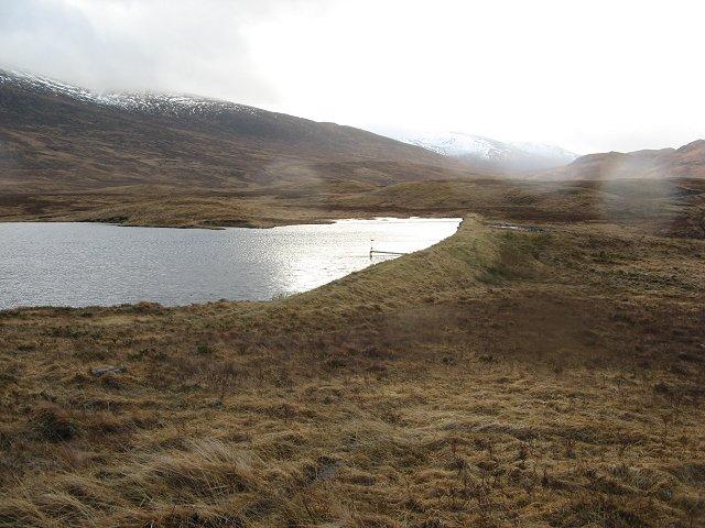 Allt Meall Ardruighe dam
