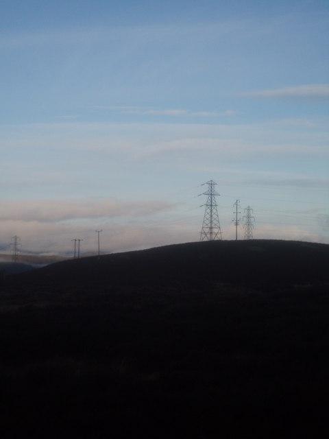 Pylons on the skyline