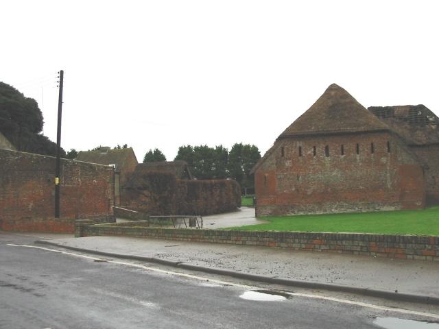 Sevenscore farm buildings.