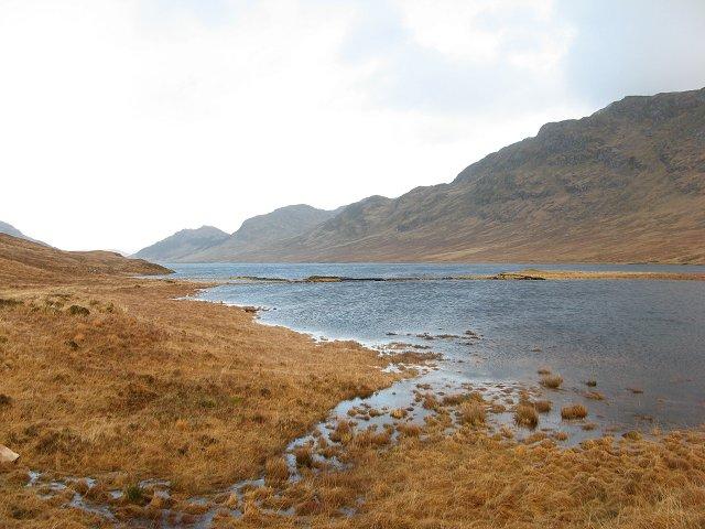 Lochan na h-Earba (upper)