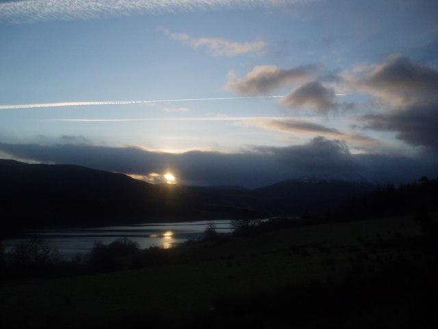 Across Loch Tummel
