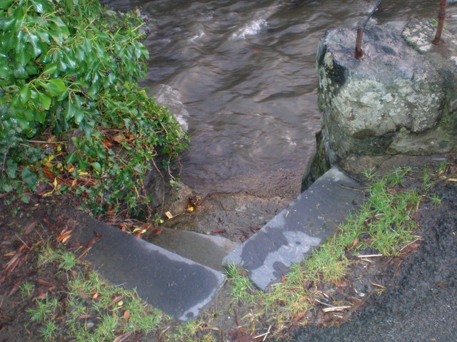 River Access Steps.