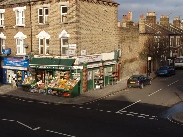 Shops on Harrow Road