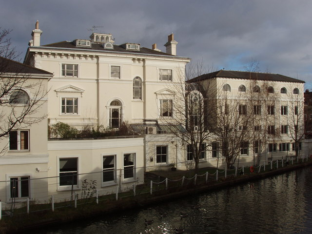 Kensal House, offices by the Grand Union Canal