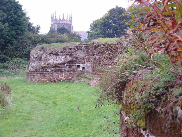 Bolingbroke Castle & Old Bolingbroke Church