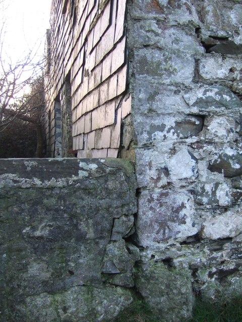Benchmark on slatehung ruin