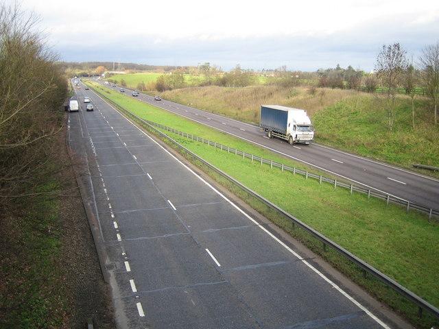 A10 near Hoddesdon