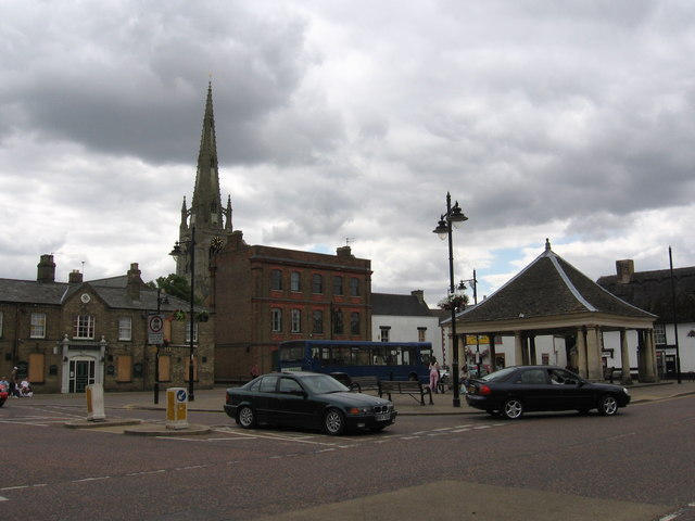 Whittlesey town centre