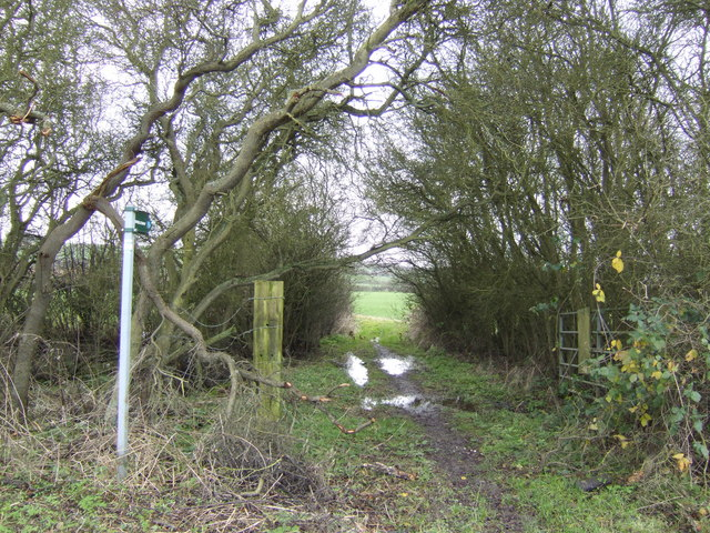 Footpath to Odstone Farm