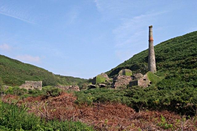 Old Mine in the Kenidjack Valley