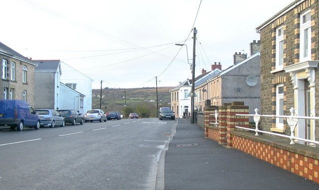 Cwmamman Road, Glanaman (Recreated)