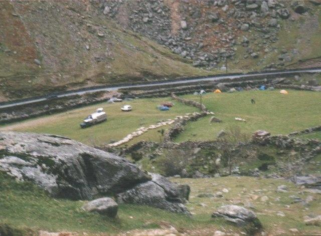 Sheepgathering at Blaen-y-Nant, Bwlch Llanberis Pass