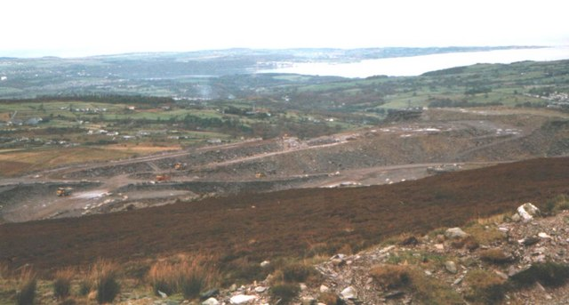 Opening up a new section of Chwarel y Penrhyn Quarry