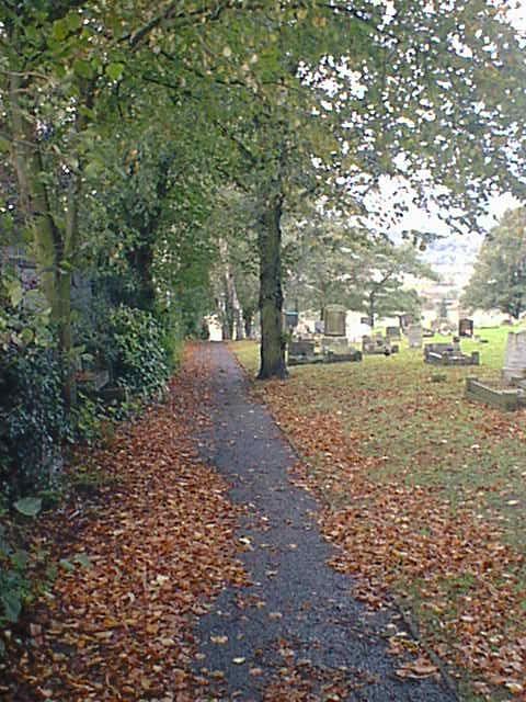 Hasland Cemetery South Side Footpath