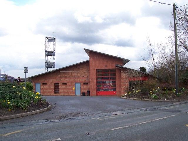 Malpas Fire Station, B5069, Malpas
