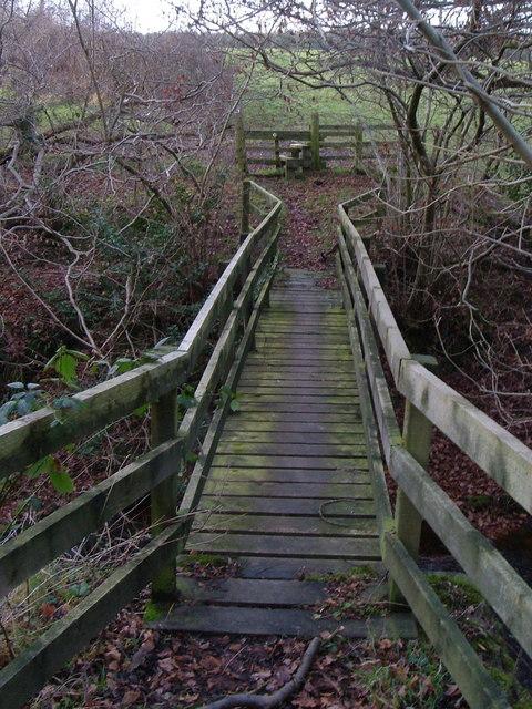 Footbridge over Black Burn