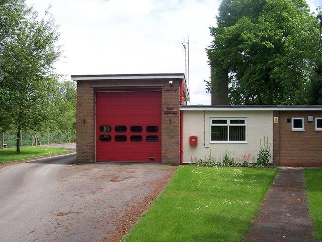 Tutbury Fire Station