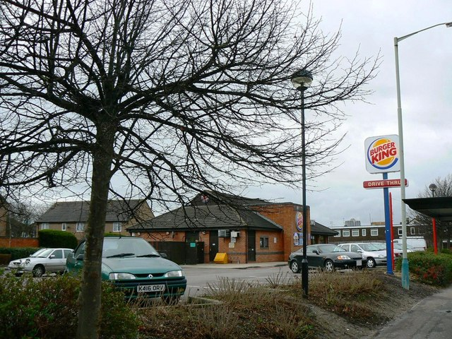 Burger King Drive-Thru, Queens Drive, Swindon
